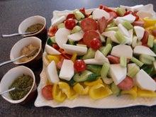 AKIの思いつき・気まぐれDIARY-野菜とディップ