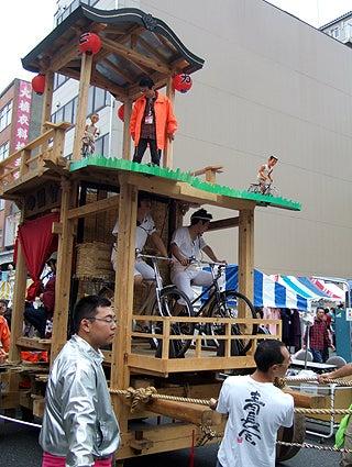 ゑびす祭り×あいちトリエンナーレ2010 ~長者町山車観察日記~-2010.10.24-3