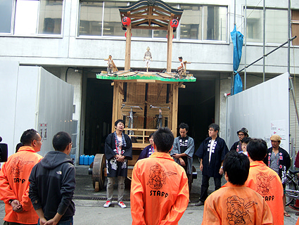 ゑびす祭り×あいちトリエンナーレ2010 ~長者町山車観察日記~-2010.10.23-2