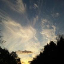 【写真55】夕焼け雲