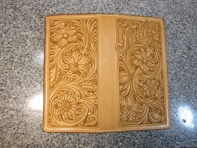 Kawamura Fine Leather Arts & Crafts Diary-ウォレット