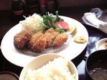浜松のお好み焼き こなこなのブログ-とんきいヒレカツ定食