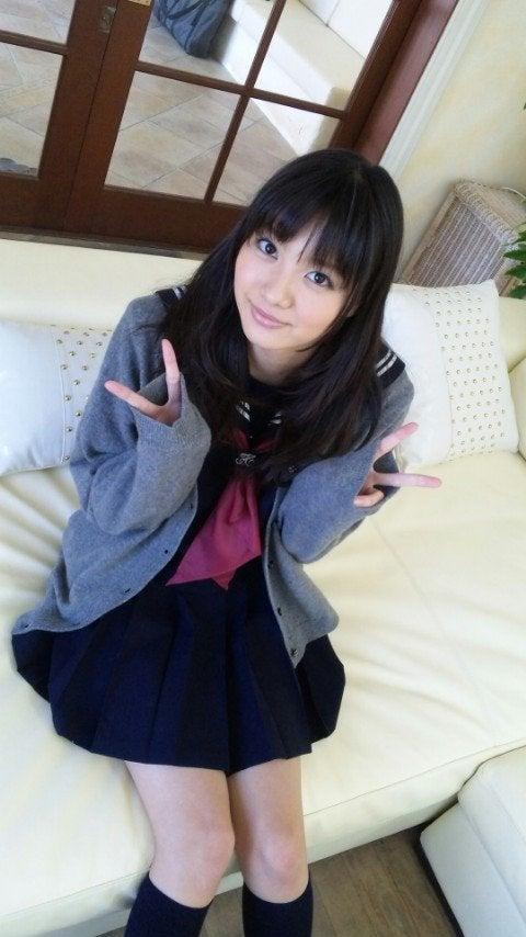 image Sexy school girl uniform wearing kaome sky double penetrates her sweet hole