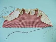 ヒロアミーの日記-ギャザーの縫い方