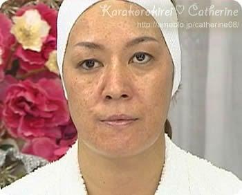 ジャガー横田スッピン⇒美女メイク方法☆   カラコロキレイ