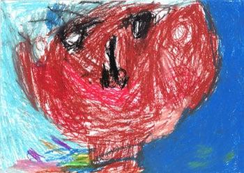 子供の絵を永遠の想い出として残しませんか?イラストレーターのりゃん(良)的日々-神奈川県 村田幸子さま 原本1