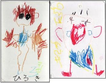 子供の絵を永遠の想い出として残しませんか?イラストレーターのりゃん(良)的日々-神奈川県 村田幸子さま 原本2