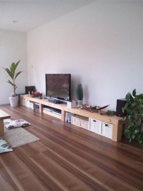 pa'ani(パアニ)【遊ぼうブログ】-DIYテレビ台
