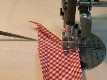 ヒロアミーの日記-パイピング縫いはじめ