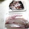 真鯛のカルパッチョ&かぶと煮の画像