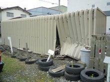 車庫後方からパチリ