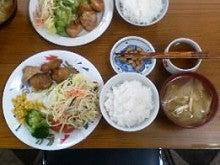 志村三太夫の日々平安・徒然日記-唐揚げとスパサラダ