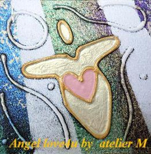 Angel love4u by アトリエM  ☆ 片山 ミチ *blog*-Angel-001プロフ