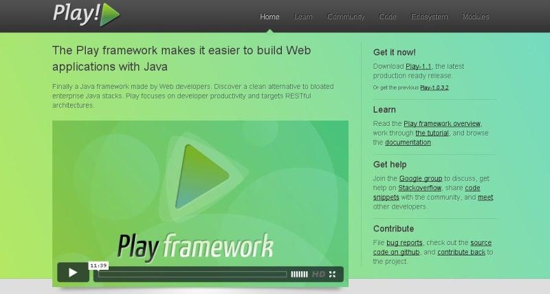 play framework ダウンロード
