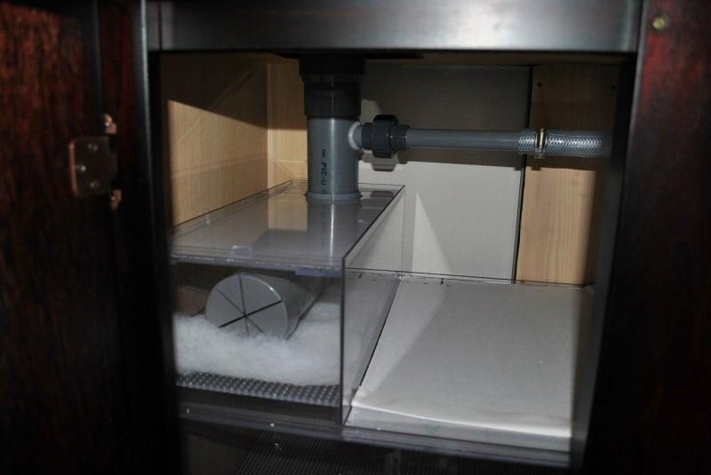フミトのブログ-150CM水槽設置