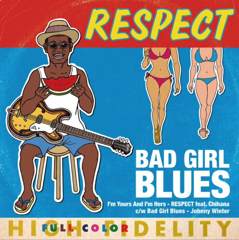 RESPECT single「BAD GIRL BLUES」