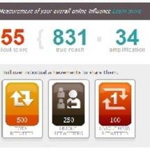 「KLOUT」で分析…
