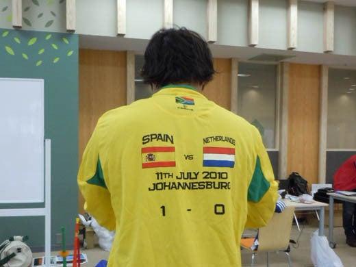 世界一蹴の旅-決勝Tシャツ