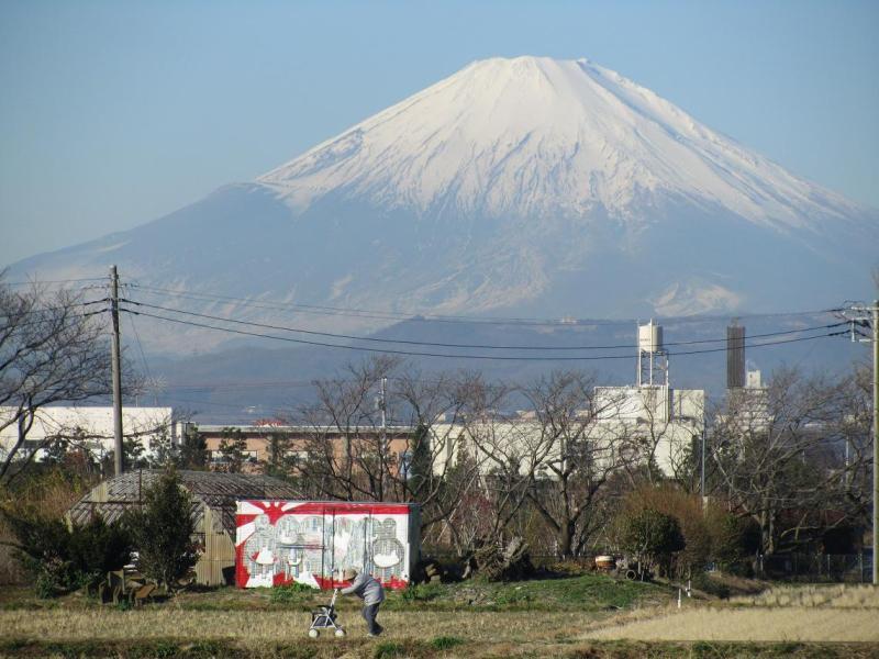 富士山画像 婆さん