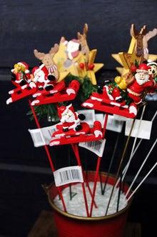 逗子のお花屋さんフラワーショップ花一-クリスマス用ピック♪
