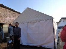 まりこの徒然手帳-テント設営2