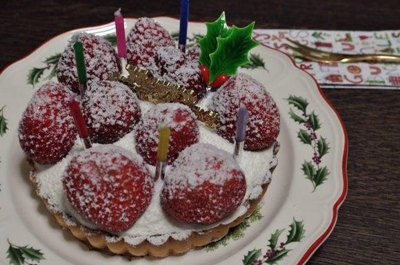 茶々吉とデジ一 のんびり旅-2010/12/24ケーキ