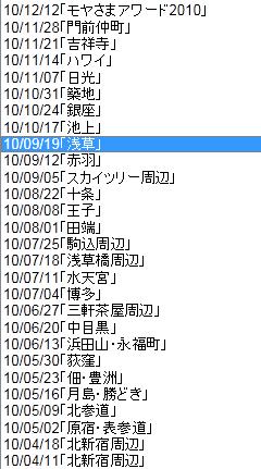 kazukunの 神出鬼没-モヤさま 放送日 一覧