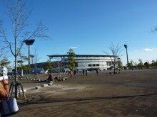 SOCIOが空を飛ぶ-熊谷競技場