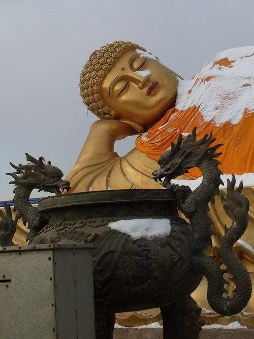 中国大連生活・観光旅行通信**-大連 中山公園 雪の華宮