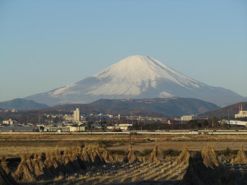 初富士山画像2011