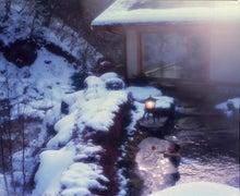 蓼科・ホテル・蓼科横谷温泉 横谷温泉旅館公式ブログ-冬の露天風呂
