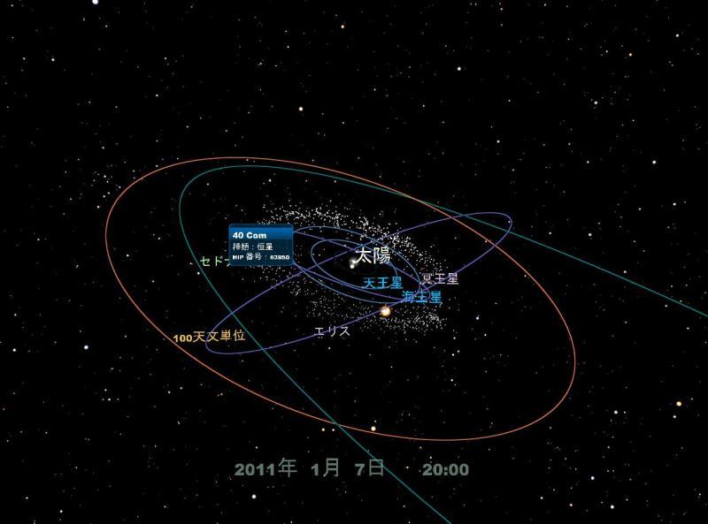 地球から100天文単位まで | コカ...