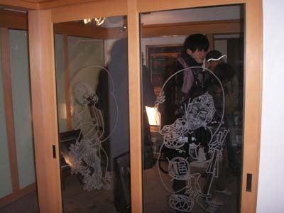 市民が見つける金沢再発見-ガラス絵