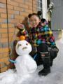 縄☆レンジャーランド-雪だるま.JPG