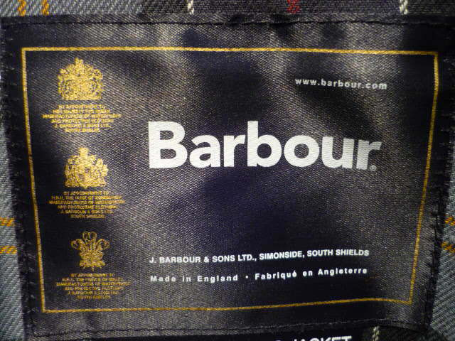barbour info