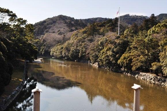 茶々吉とデジ一 のんびり旅-2011/1/11伊勢神宮