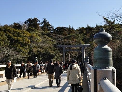 茶々吉とデジ一 のんびり旅-2011/1/11伊勢神宮2