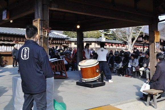 茶々吉とデジ一 のんびり旅-2011/1/11おかげ横丁2