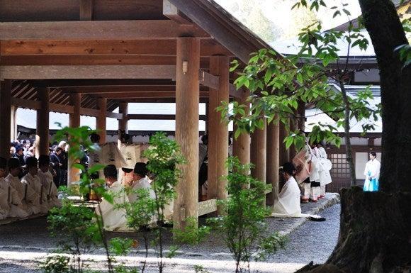 茶々吉とデジ一 のんびり旅-2011/1/11伊勢神宮5