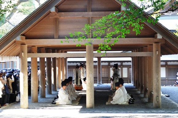 茶々吉とデジ一 のんびり旅-2011/1/11伊勢神宮6