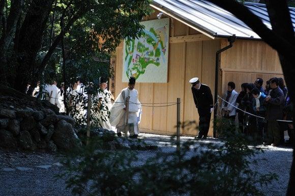 茶々吉とデジ一 のんびり旅-2011/1/11伊勢神宮4