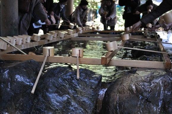 茶々吉とデジ一 のんびり旅-2011/1/11伊勢神宮3