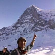スイスでスキ-