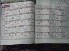 ハングル韓国文字の覚え方2 今日から