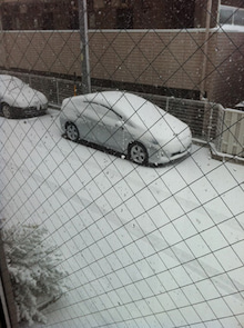 庭とインテリアのデザイン事務所 ジェイプランニングのオフィシャルブログ-大雪 駐車場