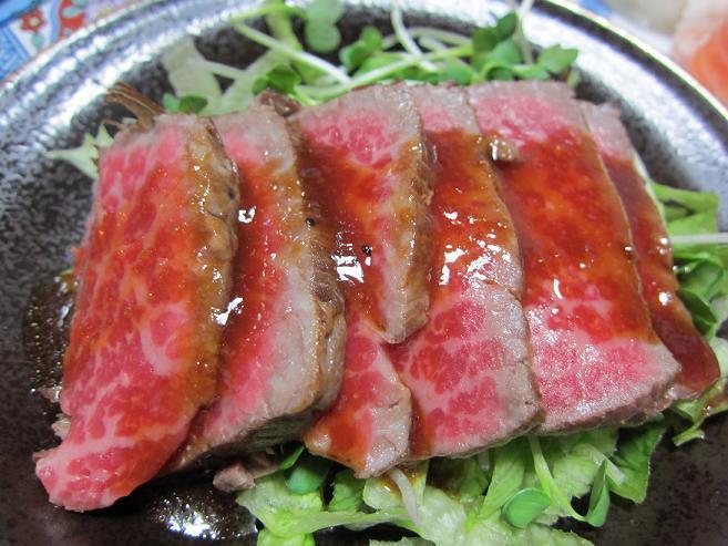 簡単レシピ研究家「さより~な」の簡単・節約料理レシピ-牛肉のたたき