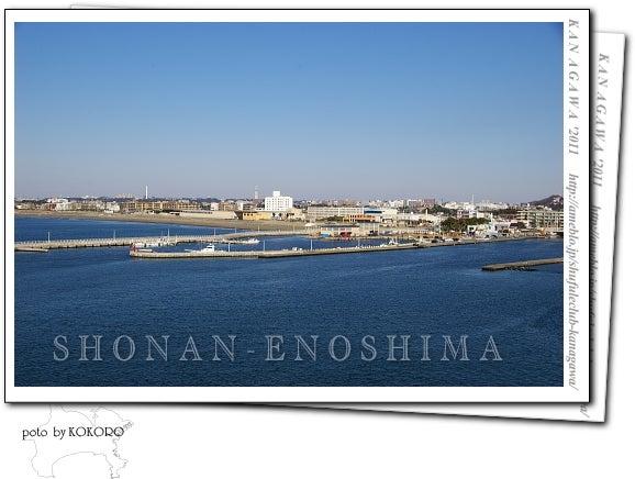 江ノ島からみた湘南の風景