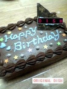 $ミーノのブログ 「ORIGINAL DISH」-バースデーチョコケーキ