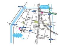 $髪の悩みは美容室シンセティックヘアー@名古屋市中川区-地図