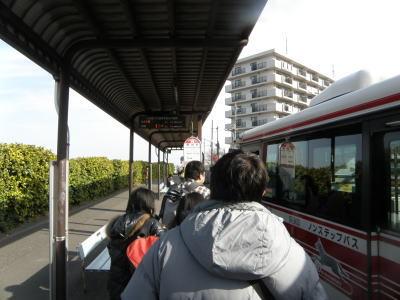創立315年?!東京ヴェルディ1696-稲城駅のバス乗り場